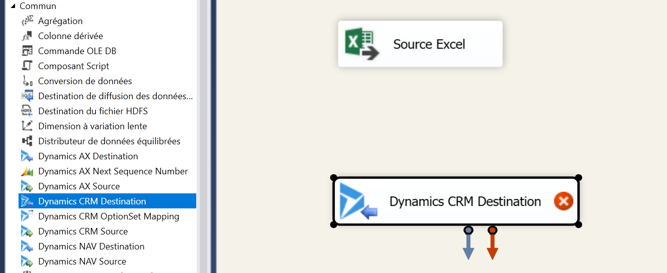 SSIS Integration with Dynamics 365 and KingswaySoft toolkit